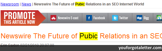 Newswire The Future of Pubic Relations in an SEO Internet World