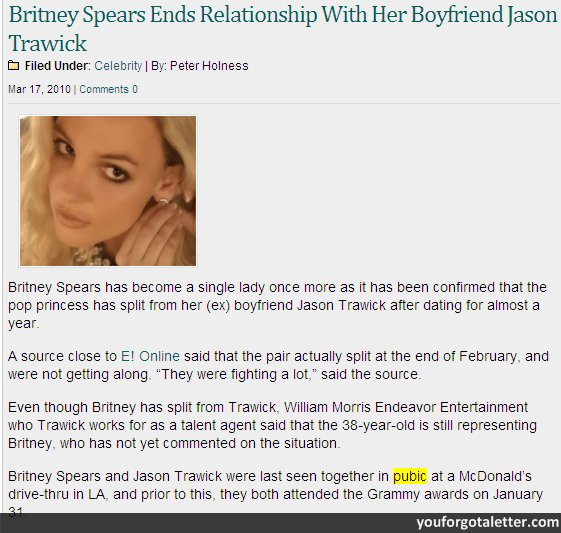 Britney Spears Ends Relationship With Her Boyfriend Jason Trawick