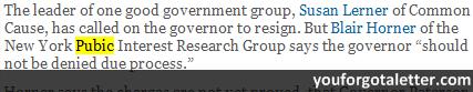 Even a Governor Deserves Due Process