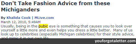 Don't Take Fashion Advice from these Michiganders